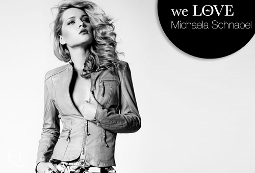 Models we LOVE – Michaela Schnabel