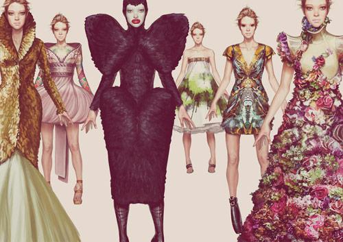 Ignasi Monreal – Fashion Illustration