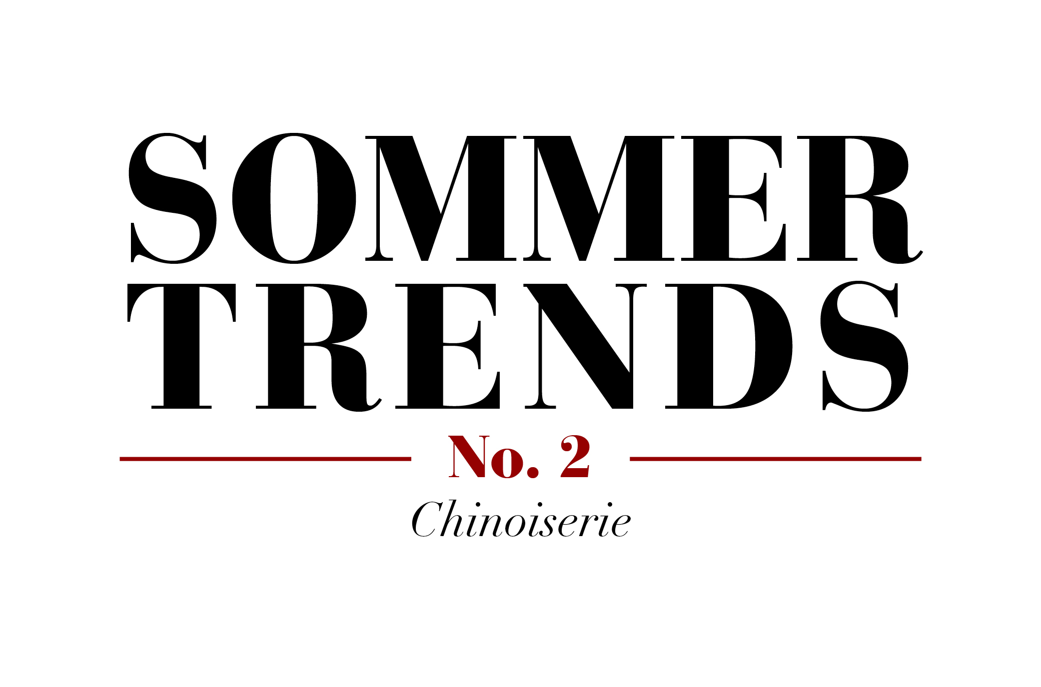 Sommer Trends #2 – Chinoiserie