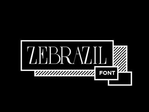 free_typo_zebrazil_coultique