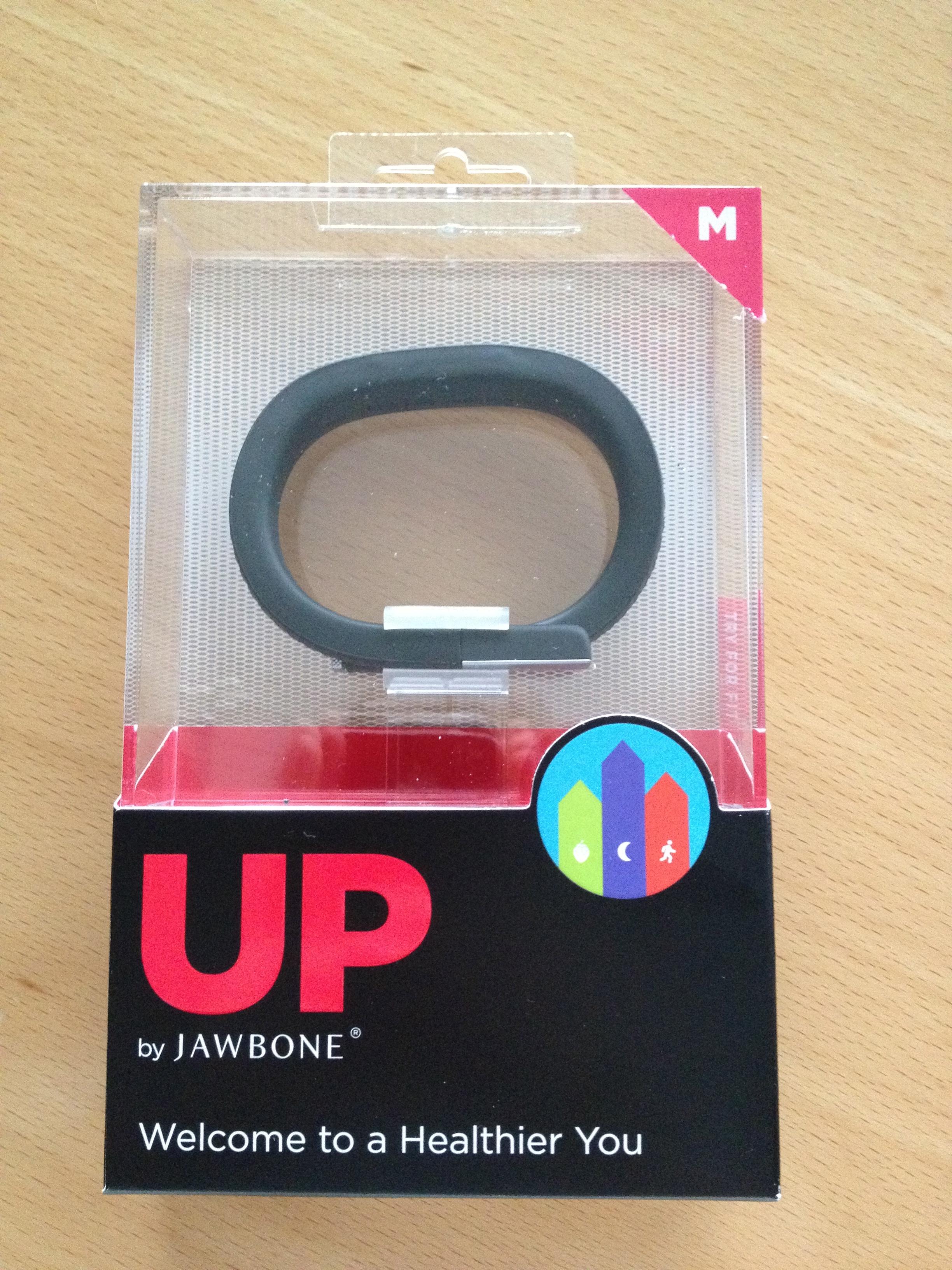 Willkommen zu einem gesünderen DU – Jawbone Up