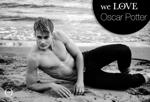 Models we LOVE – Oscar Potter