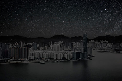 thierry_cohen_darkened_cities_hong_kong_coultique
