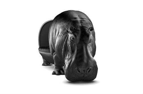 máximo_riera_the_hippopotamus_chair_front_coultique