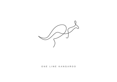 differantly_oneline_kangaroo_coultique
