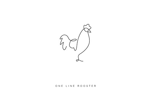 differantly_oneline_rooster_coultique