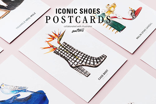 antonio_soares_iconic_shoes_postcards_front_coultique