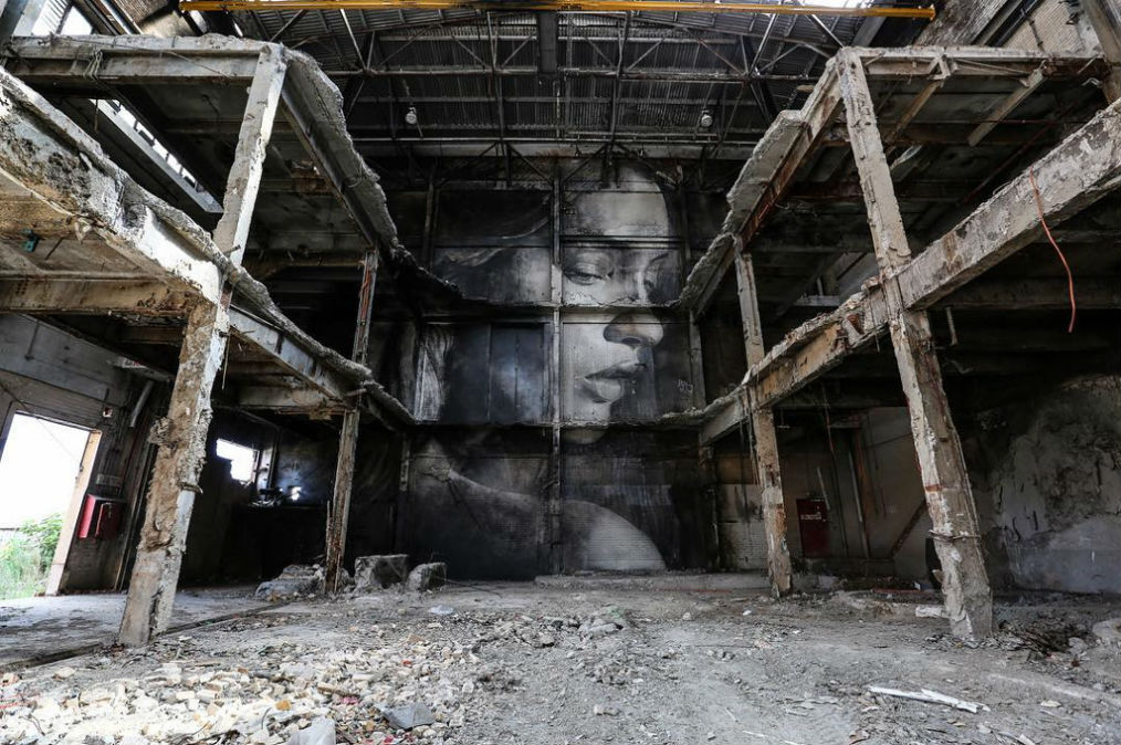 """The Alpha Project"" – 4 New Massive Portrait Murals by Street Artist RONE"