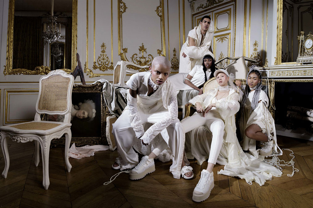 FENTY PUMA Kollektion Spring/Summer 2017- Marie Antoinette in Activewear